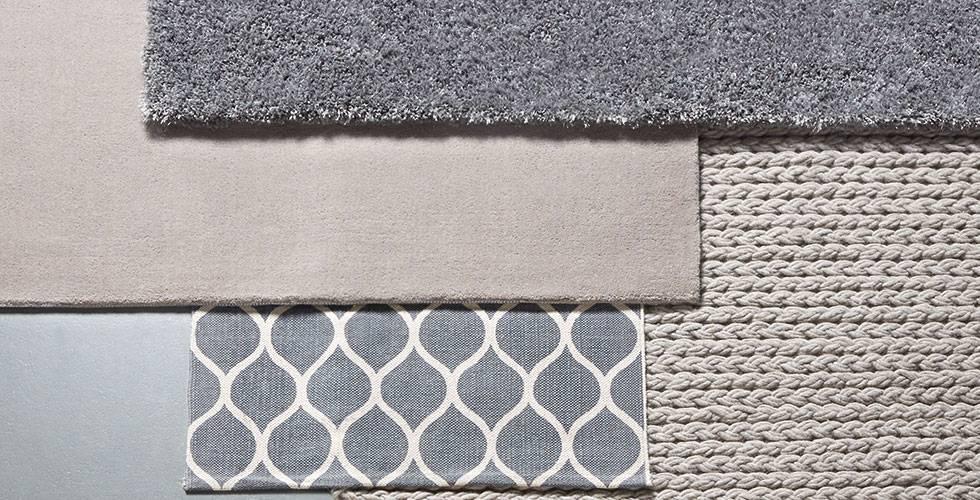 Große Auswahl an verschiedenen Teppichen bei mömax.
