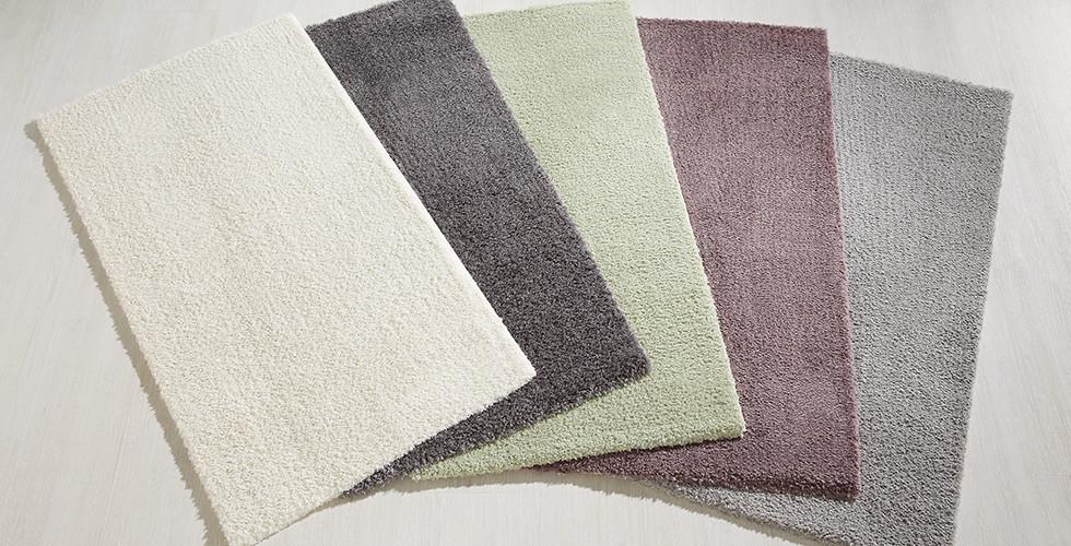 Klassischer, flauschiger Shaggy-Teppich in verschiedenen Farben von mömax.