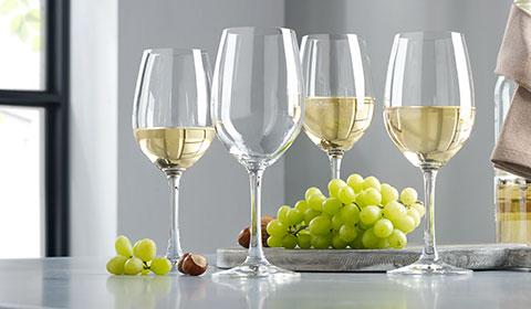 4-teiliges Weißweinglas-Set von Spiegelau bei mömax.