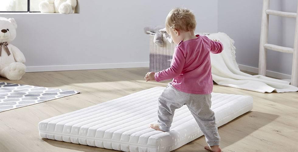 Optimaler Schlafkomfort mit der Kinderbettmatratze Irisette Badenia Junior von mömax.