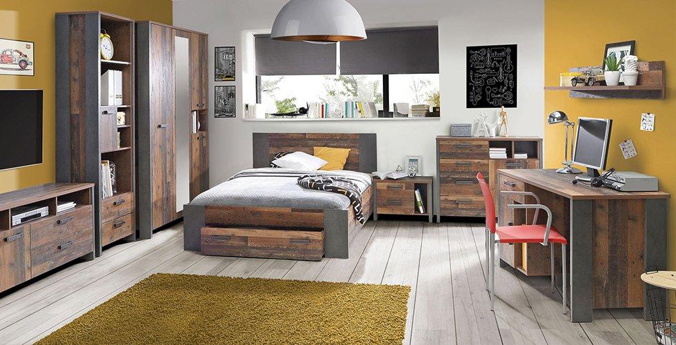 Brauner Schreibtisch passend für jeden Raum bei mömax.