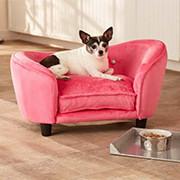 Hundesofa in rosa