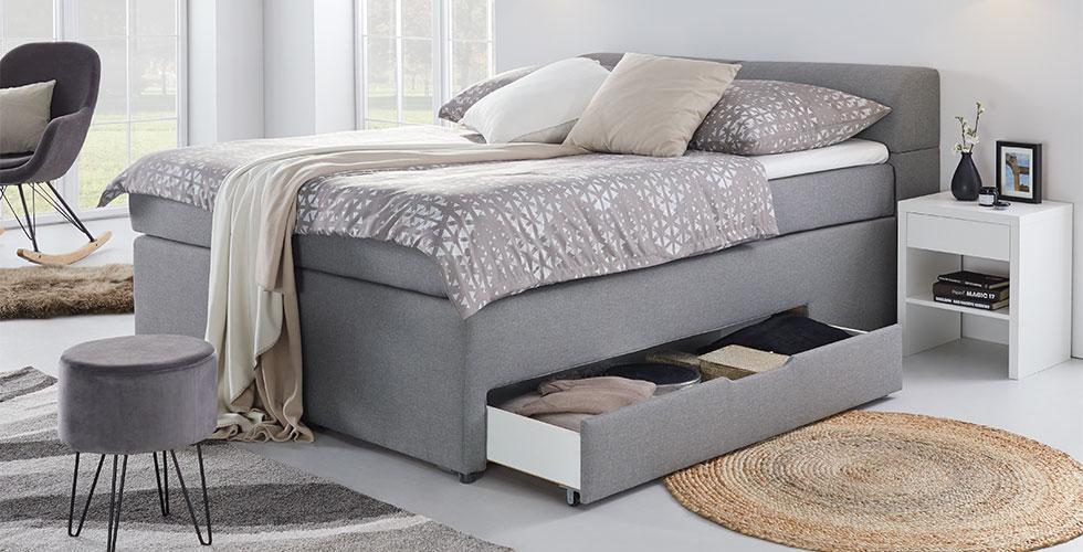 Schlafzimmer-Nachtkästchen-Weiss-Schublade-Nachttisch-Stauraum