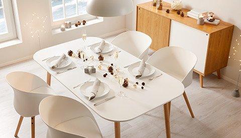 Esstisch-Anuk-Tischplatte-Weiss-Beine-Holz-Buche