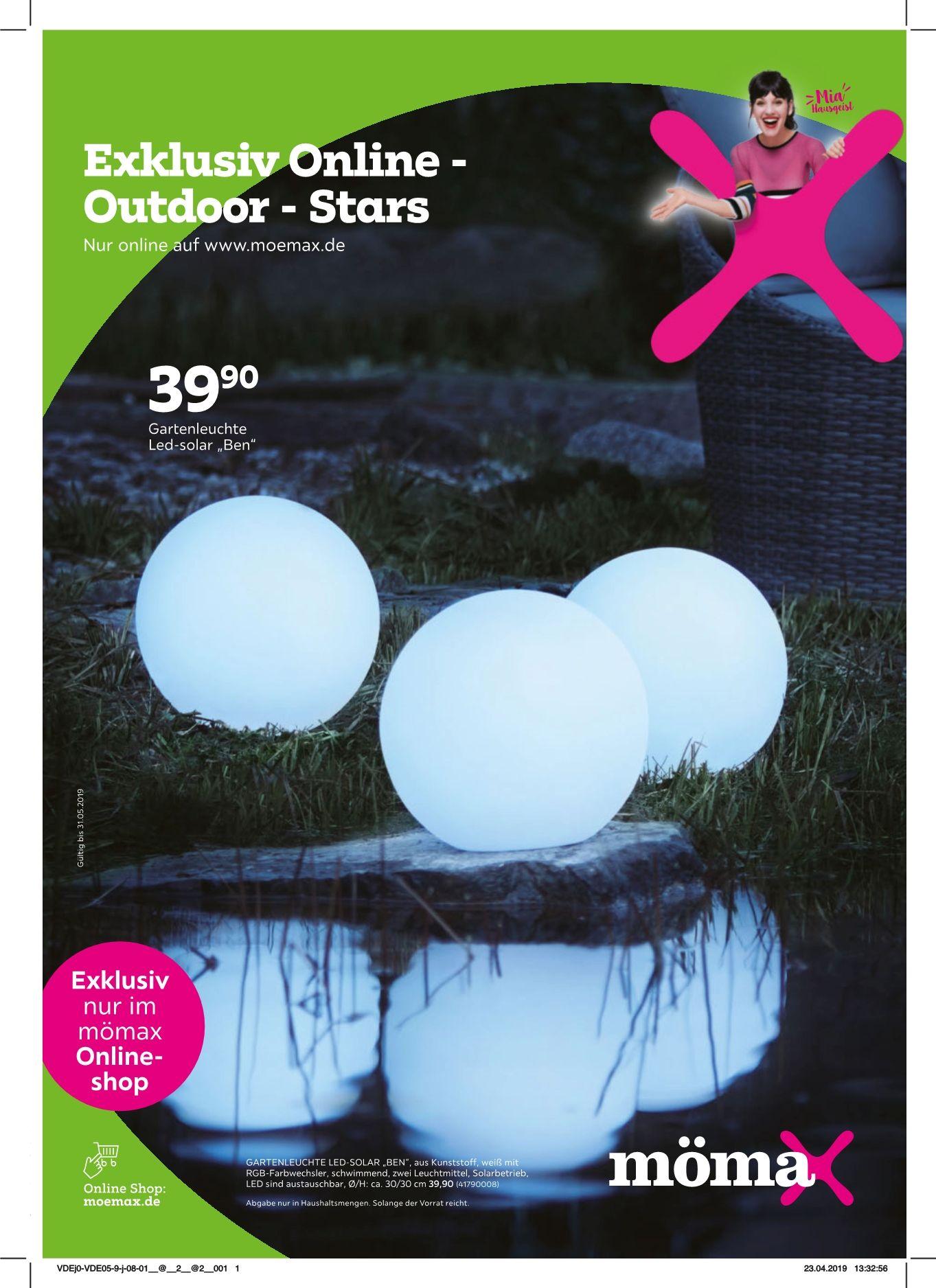 Exklusiv Online - Outdoor-Stars