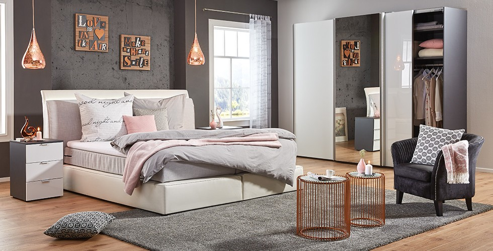 schlafzimmer ideen neue trends zum verlieben m max. Black Bedroom Furniture Sets. Home Design Ideas