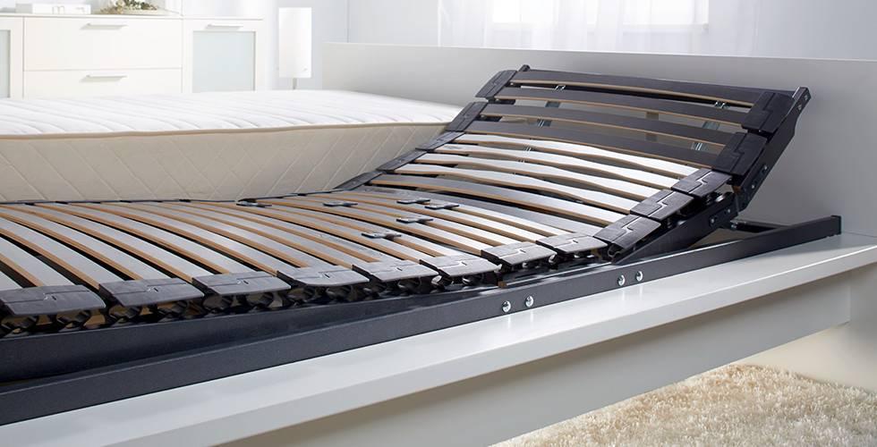 Verstellbarer Lattenrost mit Duokappenleisten von mömax.