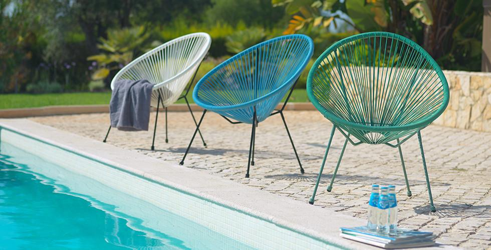 AuBergewohnlich Gartenstühle Mit Gemütlichen Kunststoffgeflecht In Verschiedenen Farben Von  Mömax.