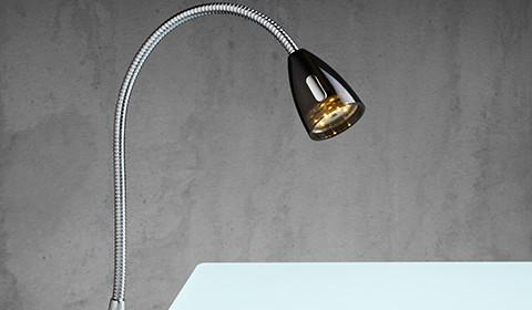 Klemmleuchte für flexible Beleuchtung von mömax.