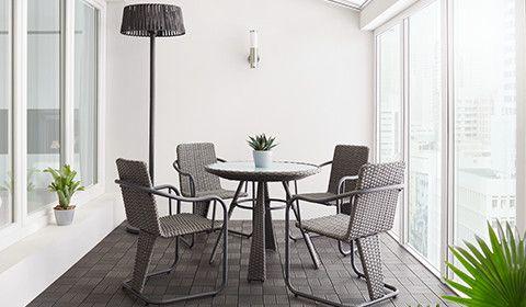 Balkonset-Gartenset-5-teilig-Polyrattan-Glas-Stahl