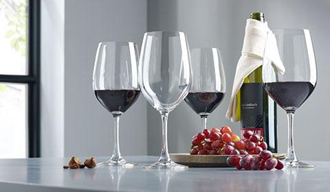 4-teiliges Bordeauxglas-Set von Spiegelau bei mömax.