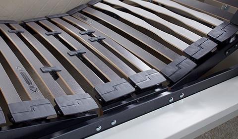 Verstellbarer Lattenrost mit individueller Härtegradeinstellung von mömax.