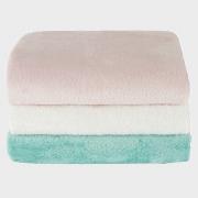 Babydecken in 3 verschiedenen Farben