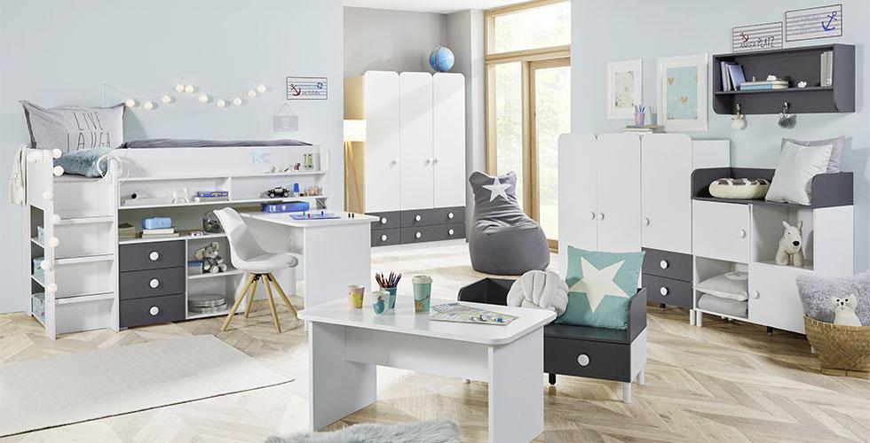 Etagenbett Jugendzimmer : Kinderzimmer komplett set hochbett mit jugendzimmer amusant fresh