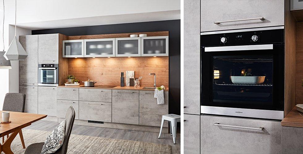 Moderne Backöfen in Kombination mit trendigen Küchen günstig kaufen bei mömax