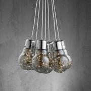LED Hängeleuchte in Glühbirnen-Optik