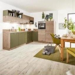 ECKKÜCHE MANHATTAN UNI/TIMBER (Nolte) - Nolte Küchen