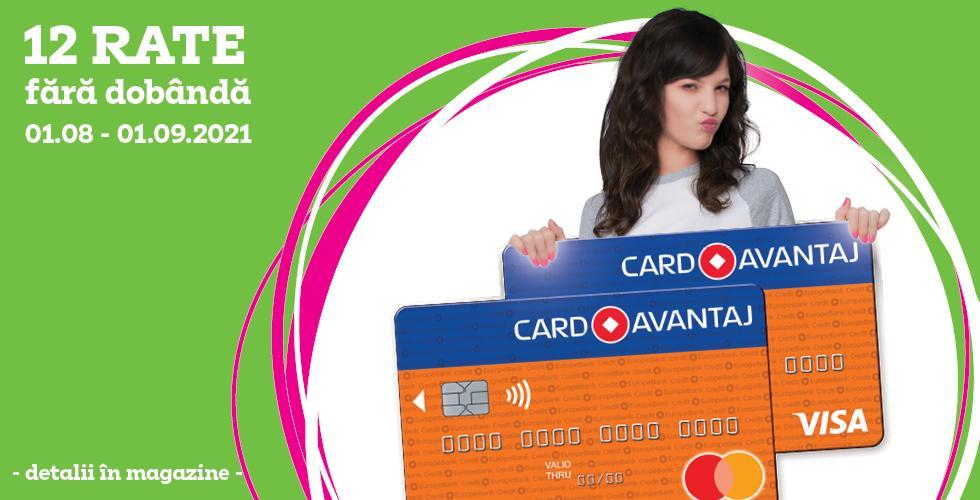 pp card avantaj