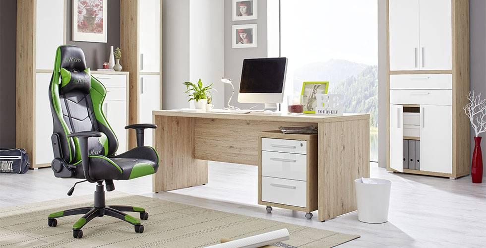 Komfortabler Chefsessel, gepolstert und höhenverstellbar bei mömax.