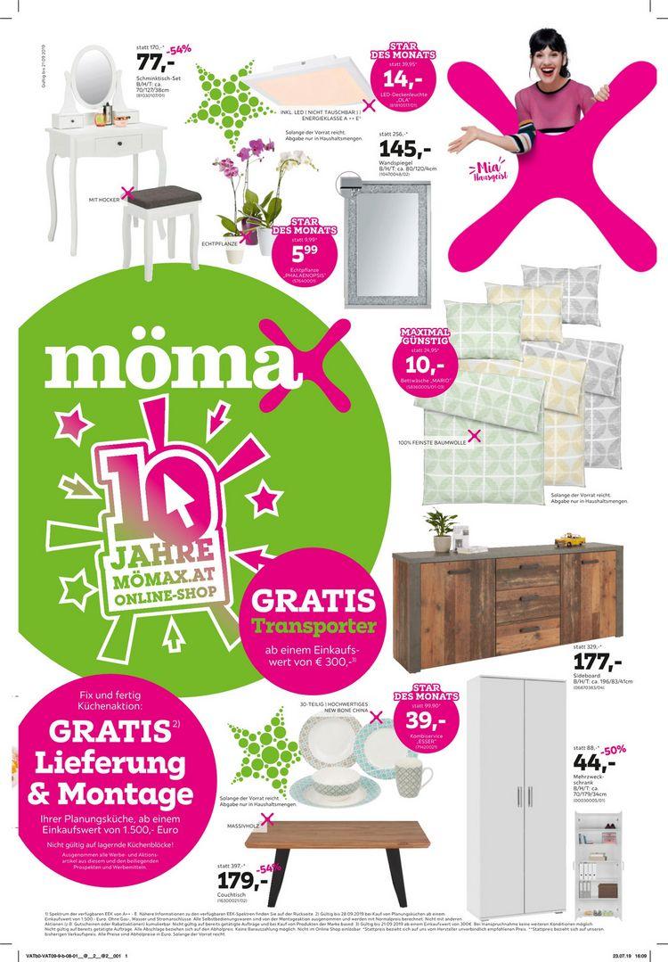10 Jahre mömax Online Shop