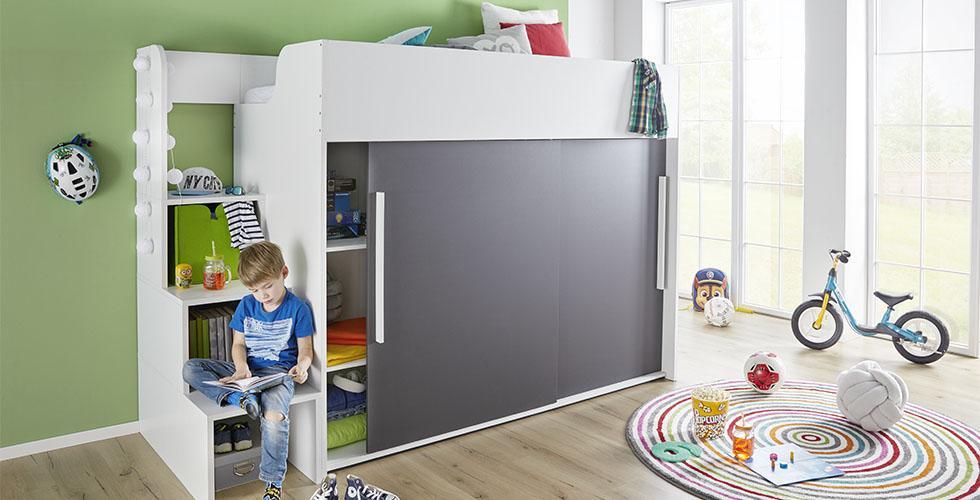 Etagenbett Für Kinder Mit Stauraum : Hochbett selber bauen mit ikea möbeln betten stauraum