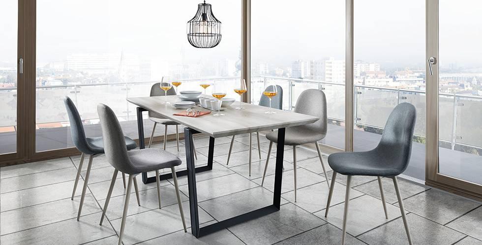 Verschiedene Tischformen, rund, eckig, oval, bei mömax.