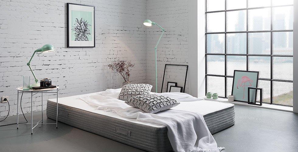 Wendematratze mit hochwertigem Kernmix aus Gelschaum für optimalen Schlafkomfort.