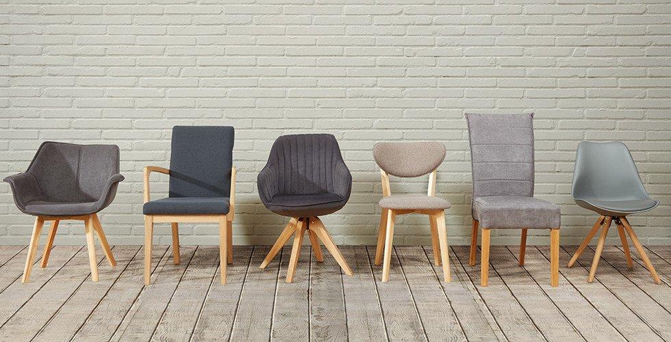 Sessel-Stühle-Esszimmer-Gruppe-Stoffbezug-Holzbeine-moemax