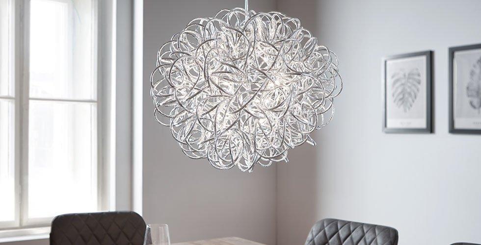 Elegante Hängeleuchte in runden Design günstig online bestellen bei mömax.