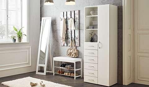 Garderobenbank in Weiß bei mömax kaufen.
