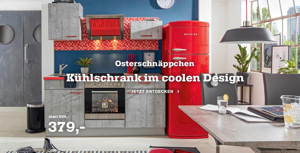Unser Osterschnäppchen: Kühlschrank im coolen Design - Jetzt günstig kaufen!