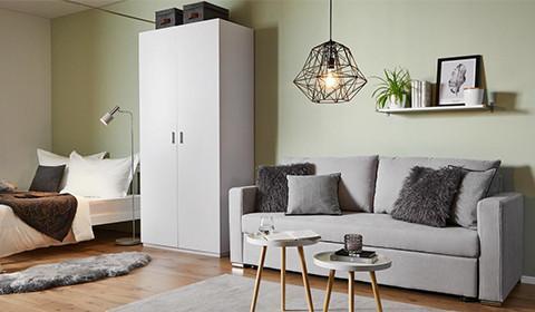 platzsparend ideen haba sofa, mömax, Innenarchitektur