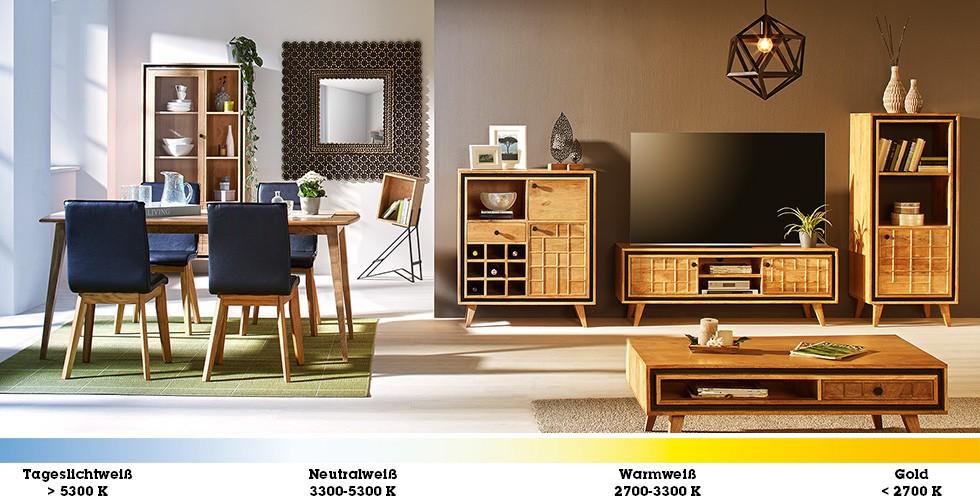 farbtemperatur helligkeit technik know how lichtstimmung m max. Black Bedroom Furniture Sets. Home Design Ideas