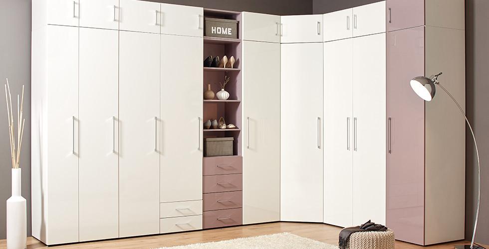 Begehbarer kleiderschrank maße  Begehbaren Kleiderschrank planen mit Schrank- und Regalsystemen. mömax