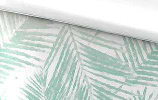 Weißer Satin mit Muster, Detailansicht.