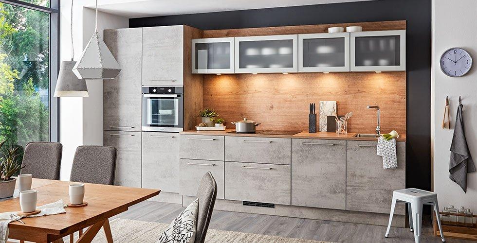 Küche für kleinen Raum, moderne Küchenblöcke günstig kaufen bei mömax
