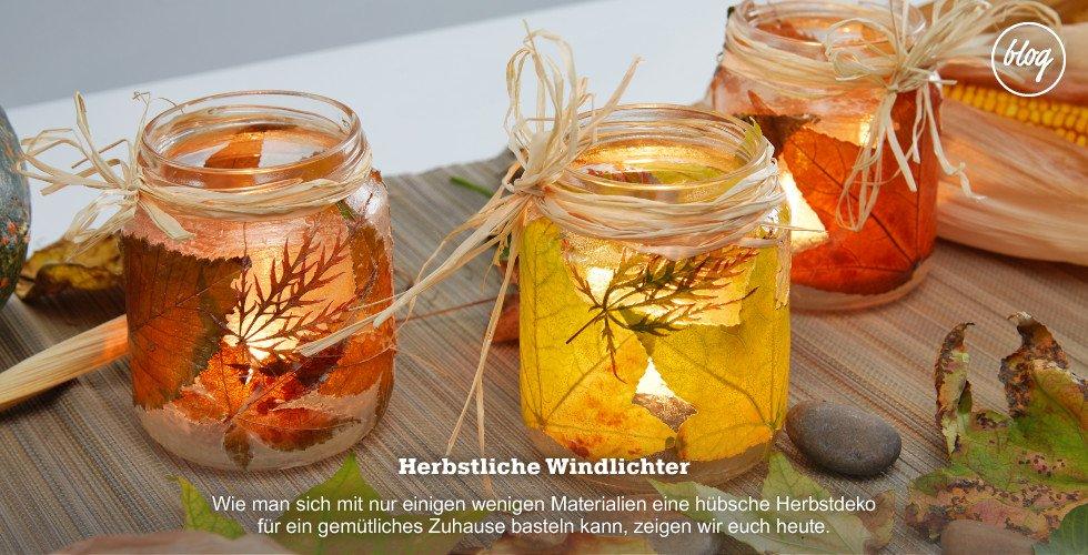 Schicke Herbstlichter selbermachen - die Anleitung gibts am Blog!