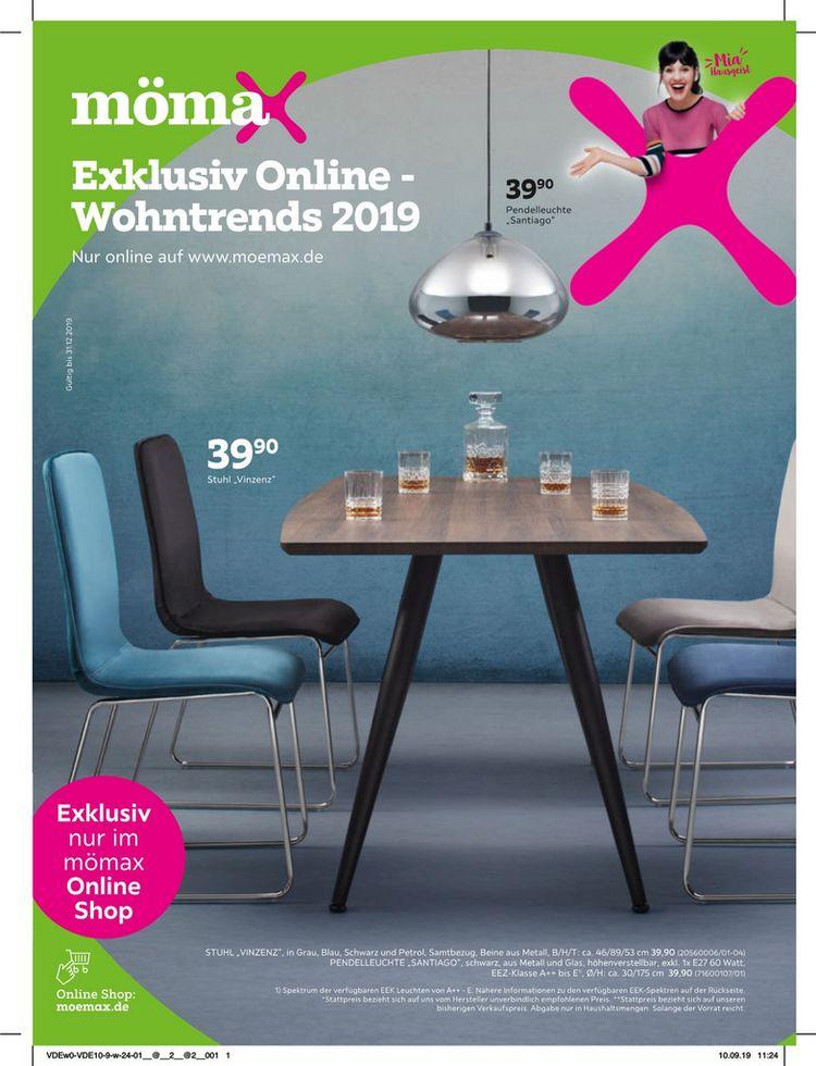 Exklusiv Online - Wohntrends 2019