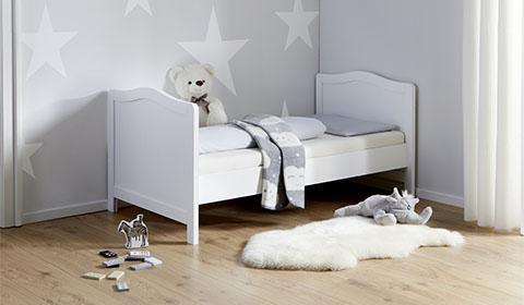 Schlichtes Kinderbett günstig kaufen bei mömax.
