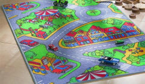 Spielteppich im Straßen-Design bei mömax günstig online bestellen.
