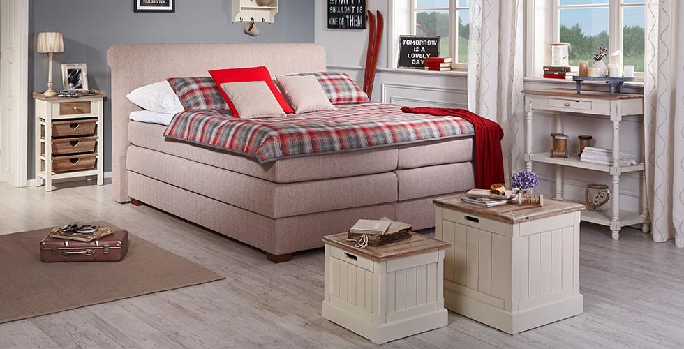 boxspringbetten entdecken m max. Black Bedroom Furniture Sets. Home Design Ideas