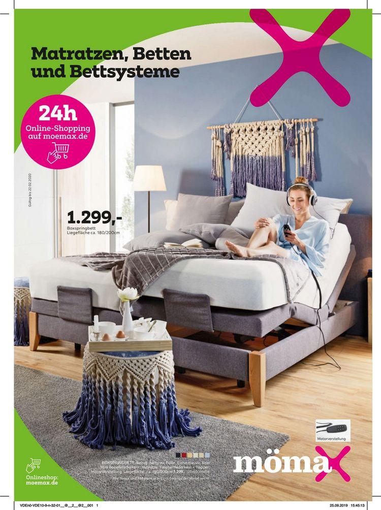 Matratzen, Betten und Bettensysteme