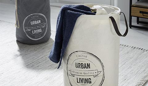 Wäschekorb aus Webstoff günstig kaufen bei mömax.