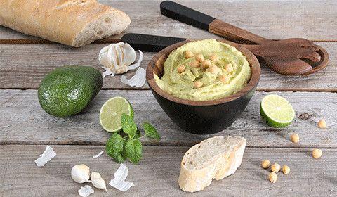 So lecker ist selbstgemachter Hummus - Das Rezept finden Sie am Blog!