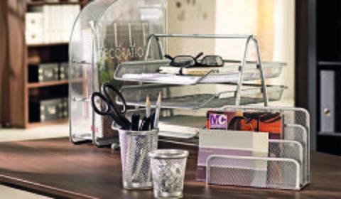 Praktisch für Ihr Home-Office – Briefablage in Silberfarbe günstig kaufen bei mömax.
