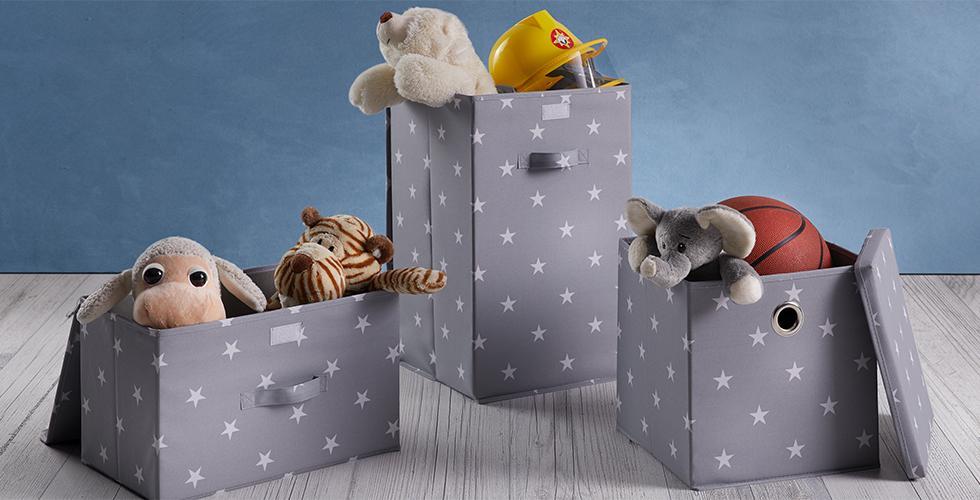 Aufbewahrungsboxen in verschiedenen Größen günstig bei mömax kaufen.