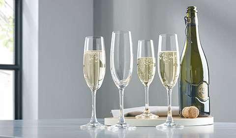 Champagnergläser von Spiegelau im 4er-Set bei mömax kaufen.