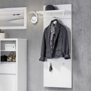 Garderobenpaneele in weiß