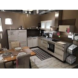 Eckküche Trendlack Ausstellungsstück - Nolte Küchen