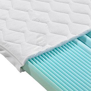 Bequemer Kaltschaum-Topper für höchsten Schlafkomfort von mömax.